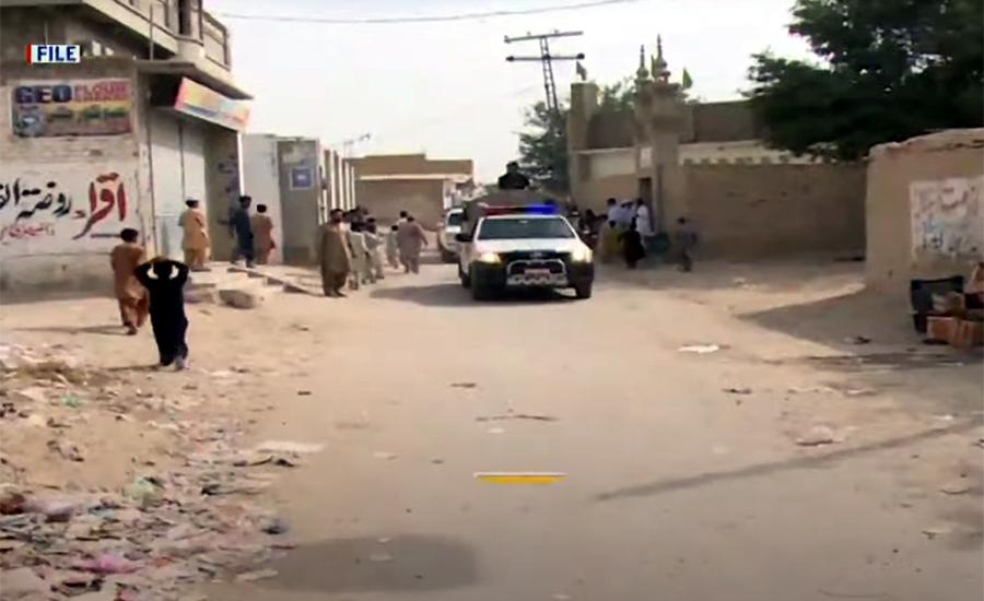کوئٹہ اور تربت میں ایف سی پر دہشت گردوں کا حملہ ، 4 جوان شہید