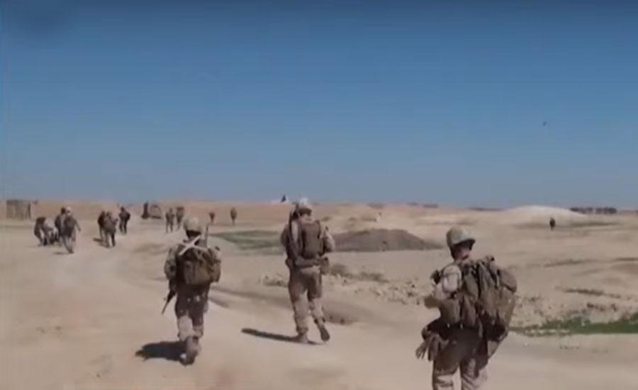 افغانستان سے امریکی فوج کے انخلا کا نصف کام مکمل کر لیا گیا ، سینٹ کام