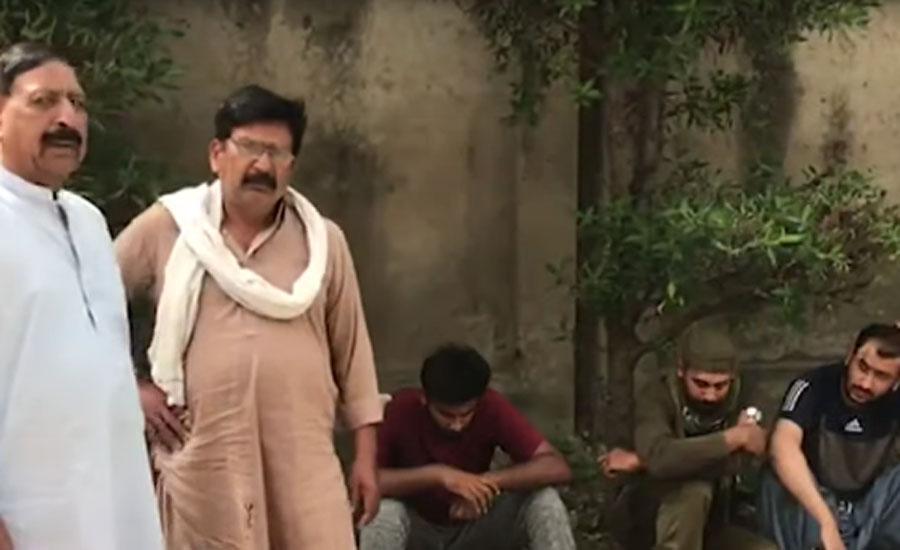 لاہور میں تھانہ سندر کی حدود میں دوران ڈکیتی ڈاکوؤں اور پولیس میں فائرنگ کا تبادلہ ، ایک پولیس اہلکار شہید