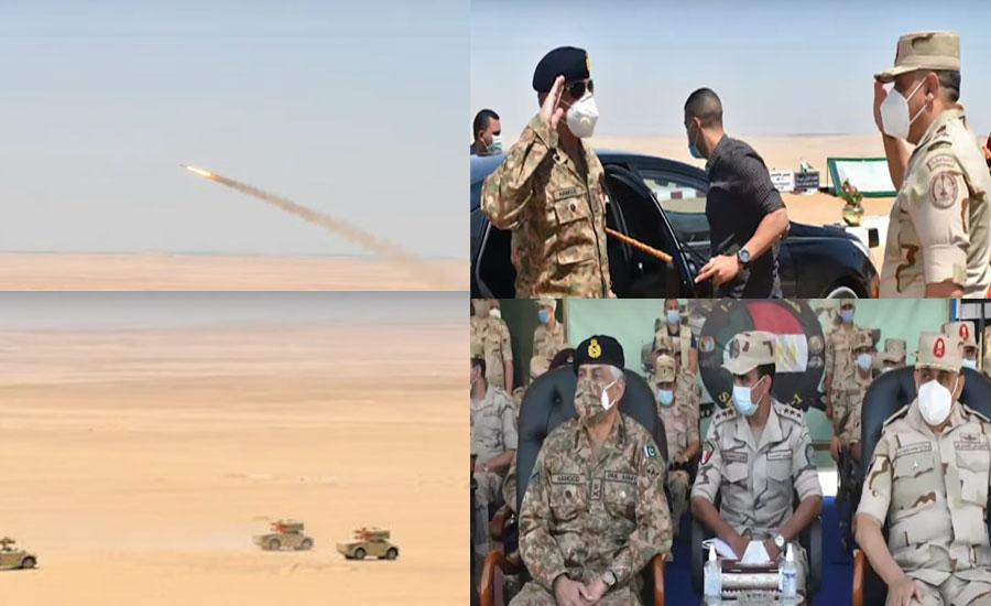 پاکستان اور مصر کی پہلی ایئرڈیفنس مشقیں اسکائی گارڈز ون قاہرہ میں اختتام پذیر