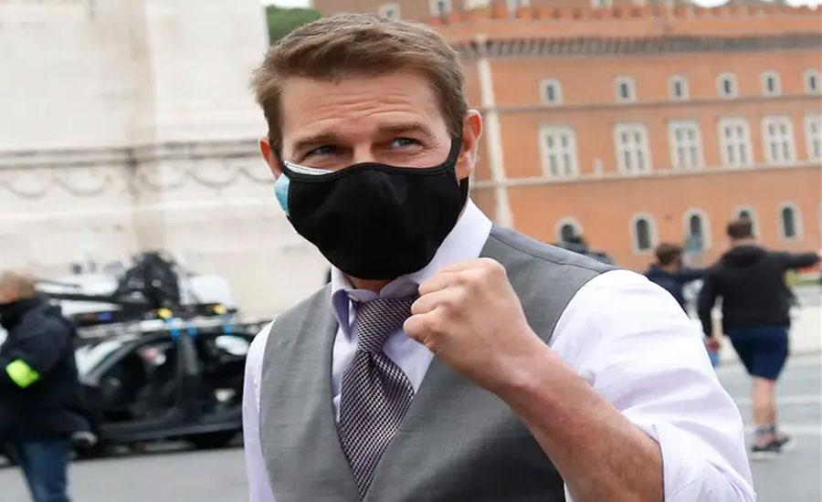 ٹام کروز کی فلم '' مشن ایمپوسیبل سیون '' کی شوٹنگ کوویڈ کی وجہ سے دوبارہ بند