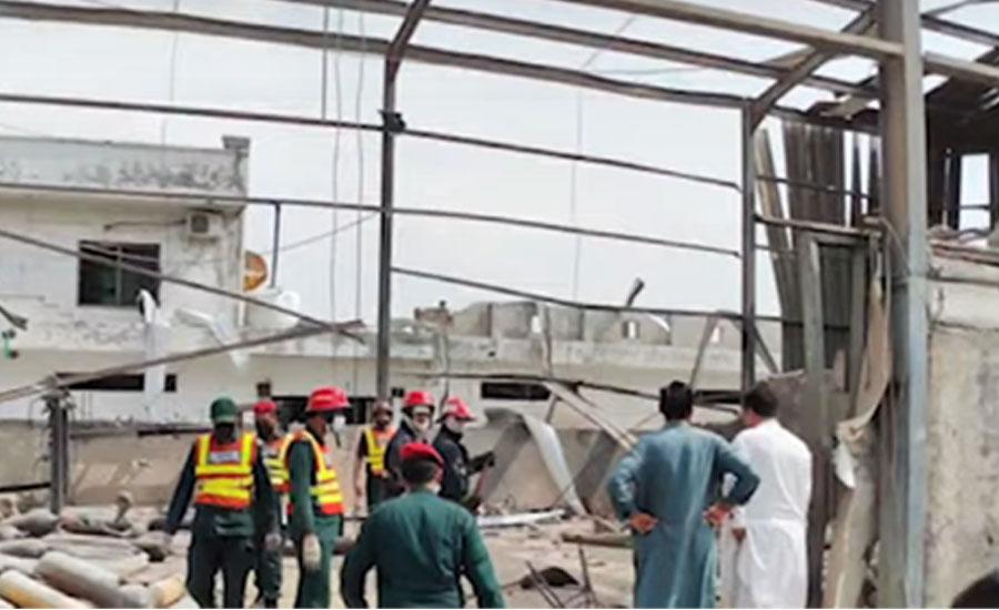 راولپنڈی میں روات انڈسٹریل اسٹیٹ میں سلنڈر دھماکا ، دو افراد جاں بحق
