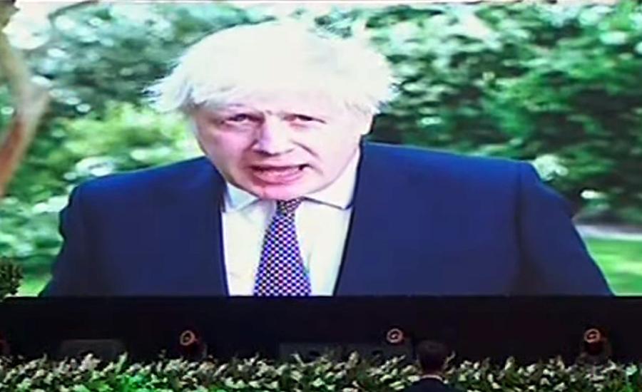 وزیرعظم عمران خان کے ماحولیاتی تبدیلی کے حوالے سے اقدامات قابل تحسین ہیں، بورس جانسن