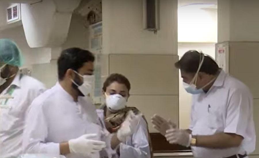 کورونا کی تیسری لہر، مزید 76 مریض انتقال کرگئے، ایک ہزار 629  نئے کیس رپورٹ