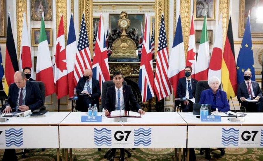 جی سیون ممالک گوگل، فیس بک اور ایمازون سمیت ملٹی نیشنل کمپنیوں پر ٹیکس لگانے پر متفق