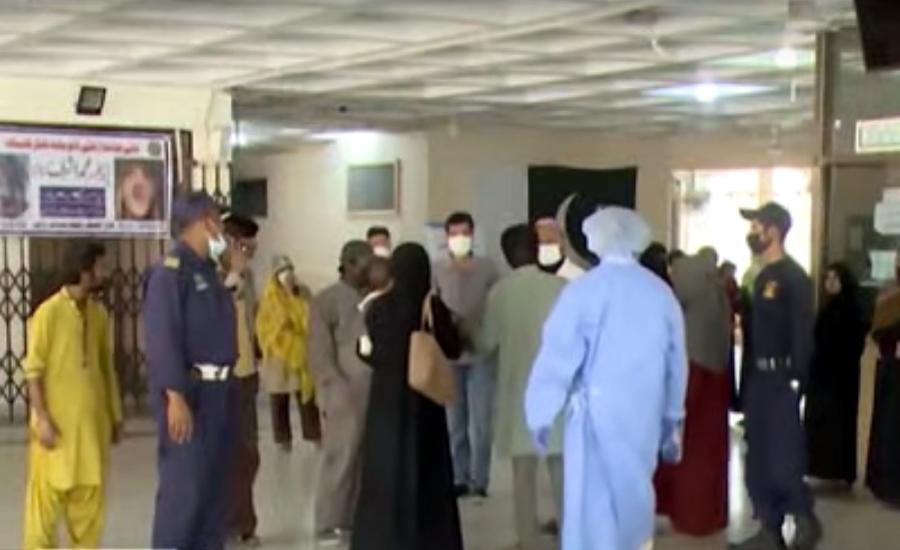 کوروناکی تیسری لہر، 24 گھنٹوں میں مزید58 افراد جاں بحق