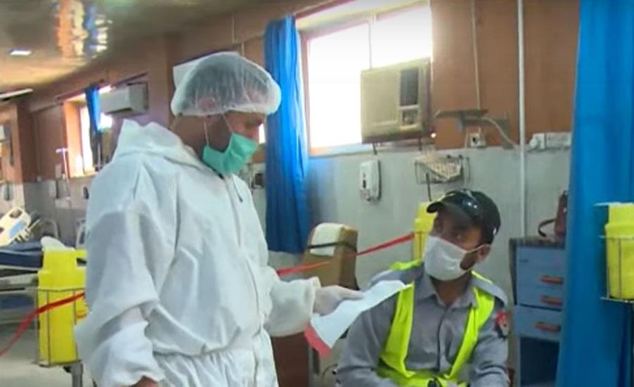 کورونا کی تیسری لہر، 24 گھنٹوں میں مزید 77 افراد انتقال کر گئے