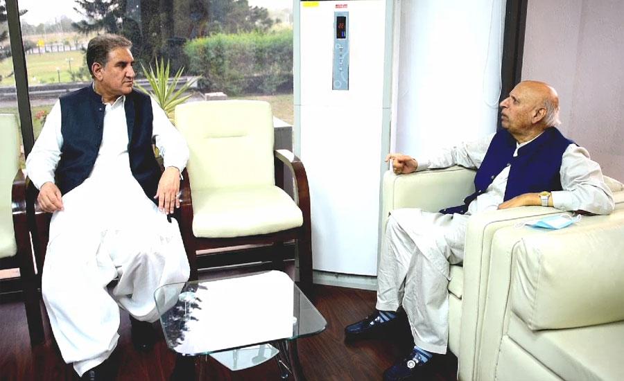 چودھری سرور کی شاہ محمود قریشی سے ملاقات ، کینیڈا میں مقیم پاکستانی نژاد خاندان کے قتل پر افسوس کا اظہار