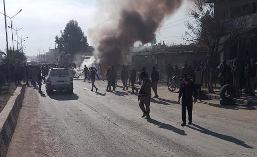 شامی علاقے عفرین میں 2 دھماکے، ڈاکٹرز سمیت 19 افراد جاں بحق