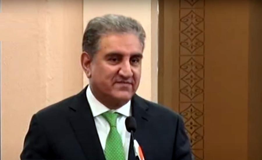 افغانستان کا مسئلہ سیاسی ہے جو صرف مذاکرات سے ہی حل ہوگا، وزیرخارجہ شاہ محمود