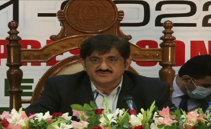 وفاقی حکومت نے ہمارا ترقیاتی بجٹ کم کر دیا ، مراد علی شاہ