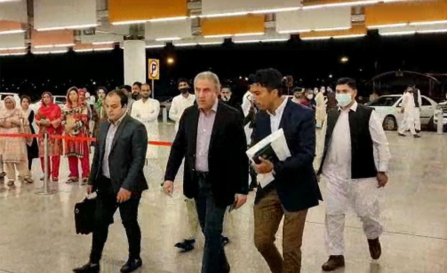 وزیر خارجہ شاہ محمود قریشی تین روزہ دورے پر ترکی روانہ