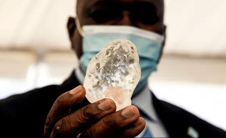 افریقی ملک بوٹسوانا میں دنیا کا تیسرا سب سے بڑا ہیرا دریافت