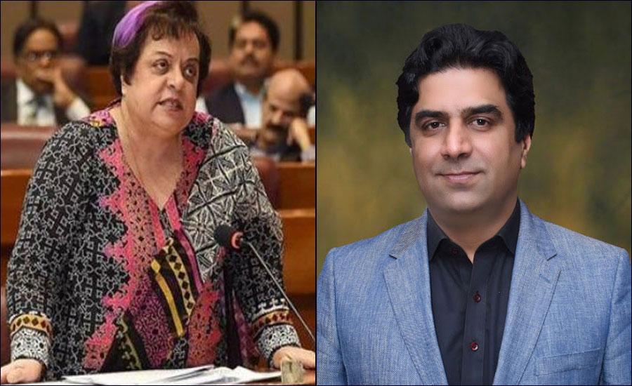 تحریک انصاف پارلیمانی پارٹی اجلاس، شیریں مزاری اور علی نواز اعوان میں تلخ کلامی