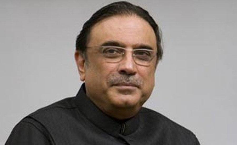 سابق صدر آصف علی زرداری لاہور پہنچ گئے