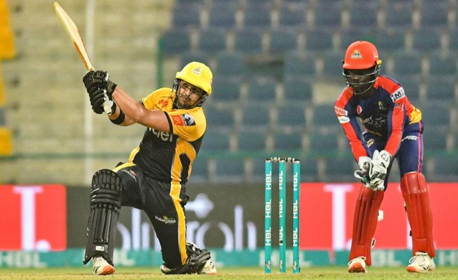 پی ایس ایل سکس ، پشاور زلمی نے کراچی کنگز کو 5 وکٹوں سے شکست دے دی
