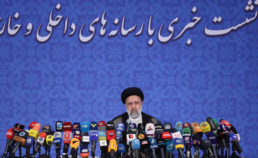 ایران کے نومنتخب صدر ابراہیم رئیسی کی ایٹمی معاہدے کی بحالی کی حمایت