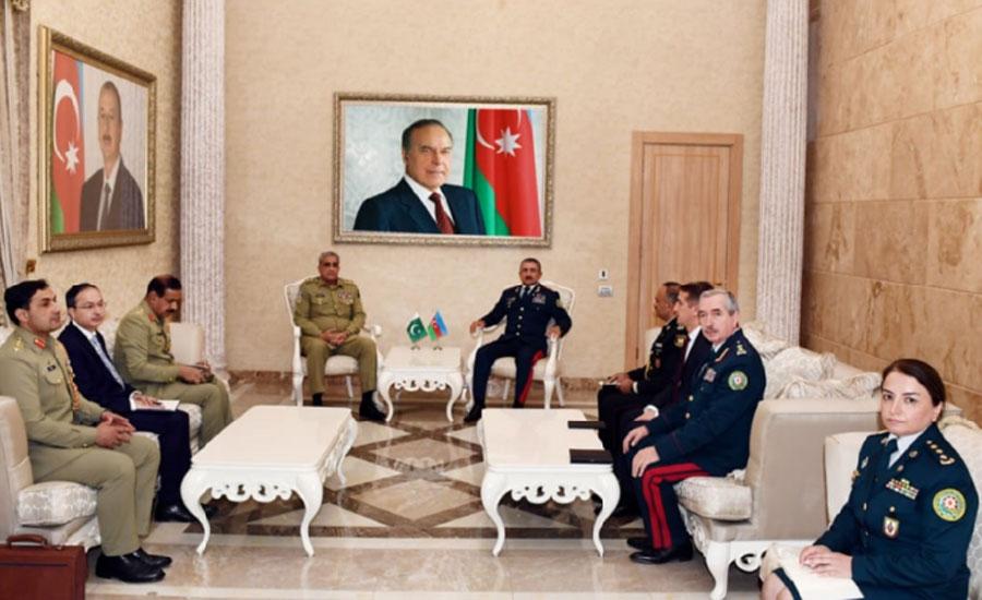 آرمی چیف جنرل قمر جاوید باجوہ کا آذربائیجان کا سرکاری دورہ
